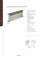 catalogue,kitchenaid,hotte de plan